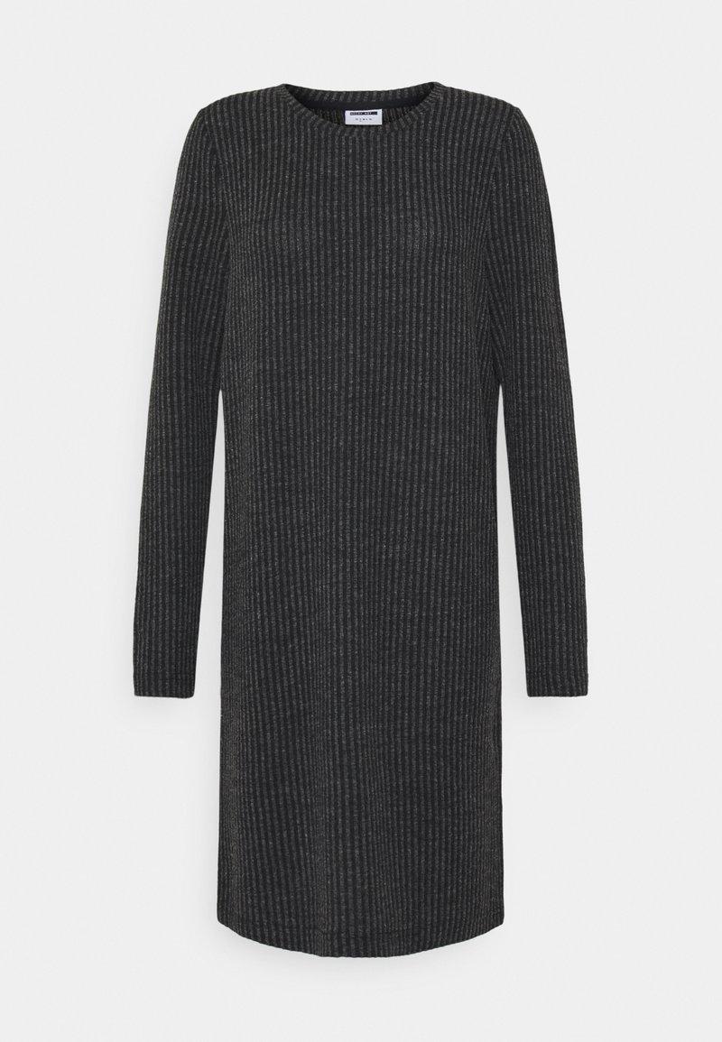 Noisy May Tall - NM LUCIE - Jumper dress - dark grey melange