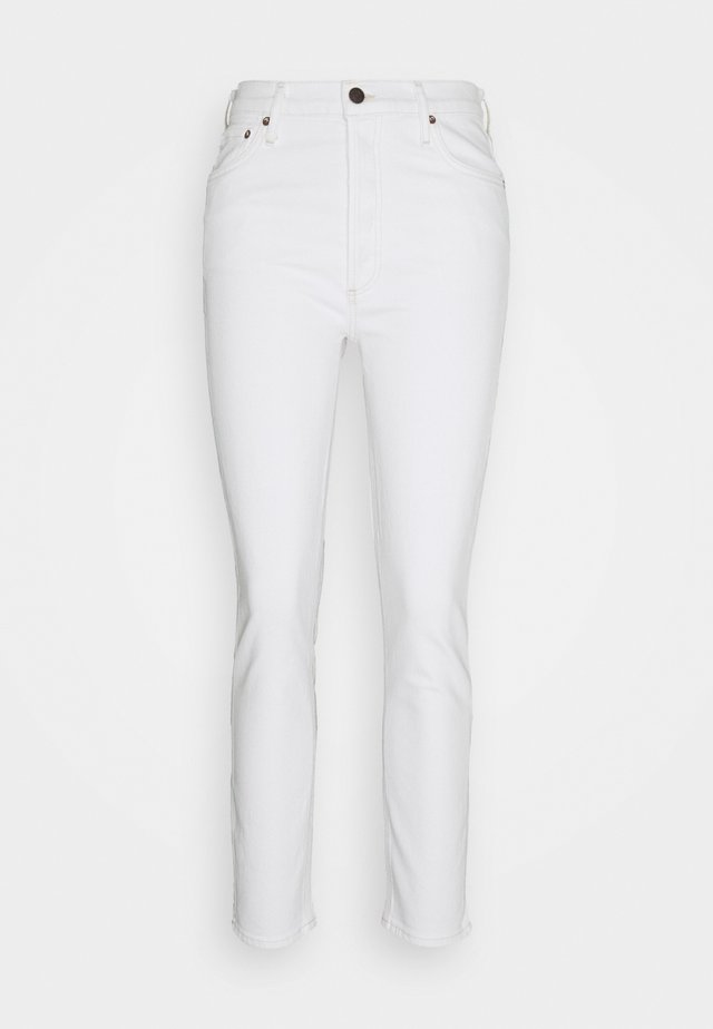 UNTITLED NICO HIGH RISE - Slim fit jeans - white