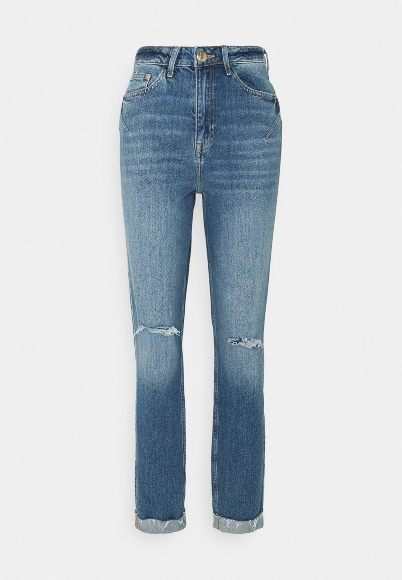 River Island Tall - Straight leg jeans - mid blue