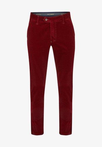 GARVEY - Trousers - rot (94)