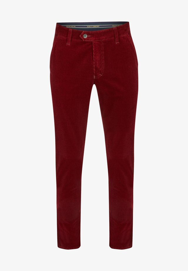 GARVEY - Trousers - rot (94)