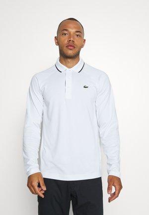 Sports shirt - white/navy blue