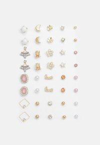 PCQIZI EARSTUDS KEY 20 PACK - Earrings - gold-coloured