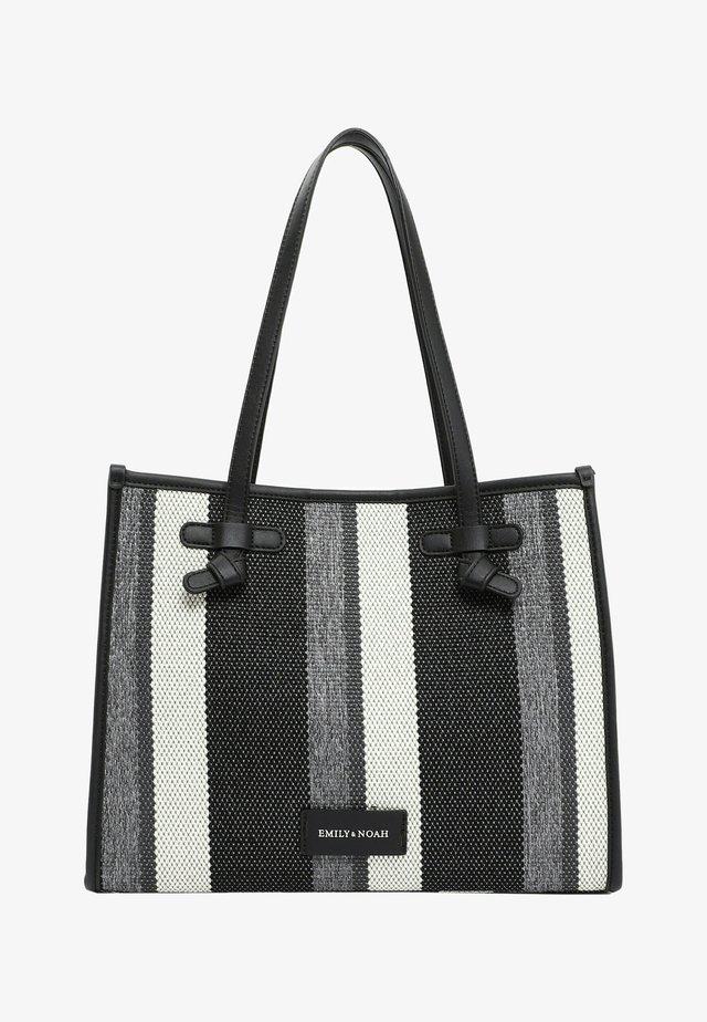 Käsilaukku - black-stripes