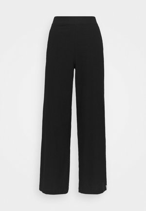 CLASSIC WIDE LEG PANT - Pyjama bottoms - black