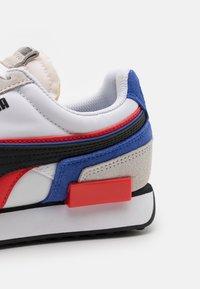 Puma - FUTURE RIDER DOUBLE - Sneakers - white/nimbus cloud - 5