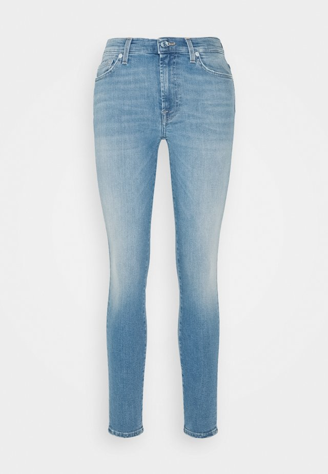 SKINNY CROP - Jeans Skinny Fit - light blue