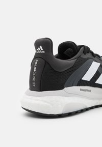 adidas Performance - SOLAR GLIDE 4 ST  - Stabiliteit hardloopschoenen - core black/footwear white/grey six - 5