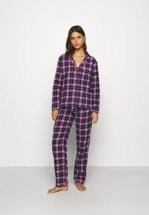CHECK PJ IN A BAG  - Pyjamas - navy mix
