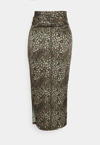 Never Fully Dressed Tall - ARTIST PRINT JASPRE SKIRT - Kietaisuhame - khaki - 1