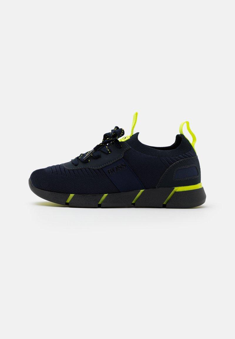 BOSS Kidswear - TRAINERS - Tenisky - navy