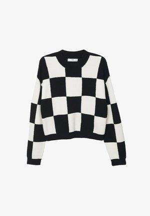 TRUI - Sweter - zwart