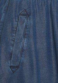 More & More - SKIRT SHORT - A-line skirt - mid blue denim - 2