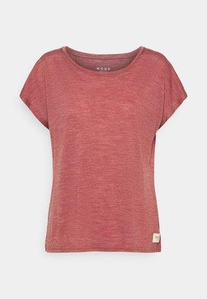 ESTELLE CAP TEE - T-shirts med print - terracotta