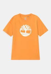 Timberland - SHORT SLEEVES - Print T-shirt - gold yellow - 0