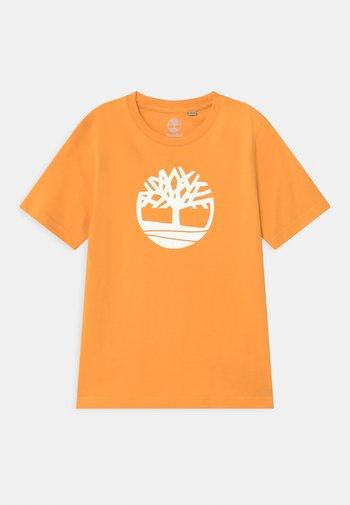 SHORT SLEEVES - Print T-shirt - gold yellow