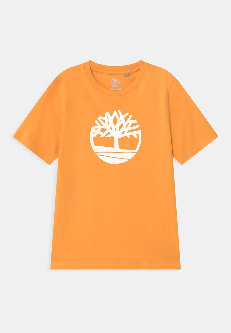 Timberland - SHORT SLEEVES - Print T-shirt - gold yellow