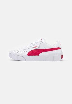CALI - Sneakers basse - white/persian red