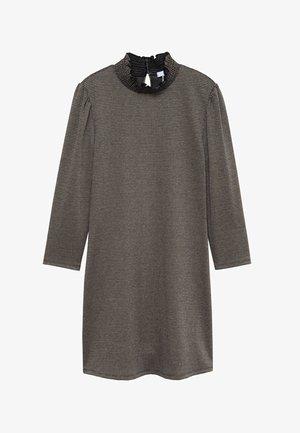 Robe en jersey - brązowy