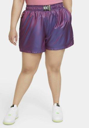 Shorts - fuchsia glow/black