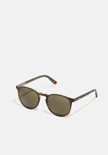 UNISEX - Sunglasses - soft tortoise/sage