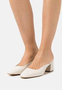 ALDO - BRERWEN - Heeled mules - white - 0