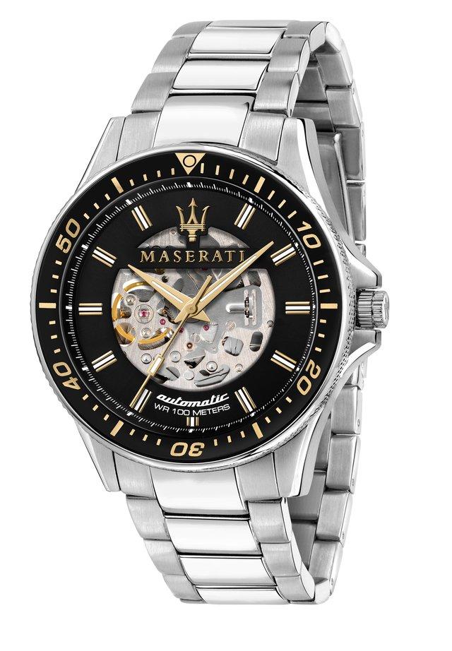 Chronograph watch - edelstahl