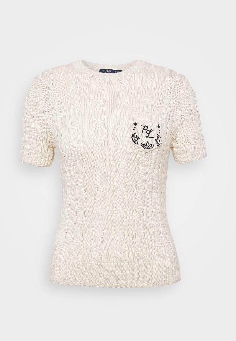 Polo Ralph Lauren - Jednoduché triko - cream