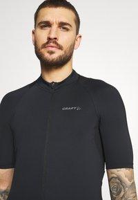 Craft - ENDUR - T-shirt imprimé - black - 3