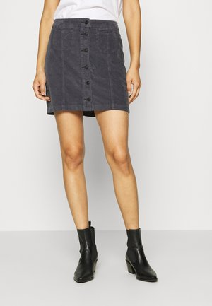 ELLIS - A-line skirt - faded indigo wash