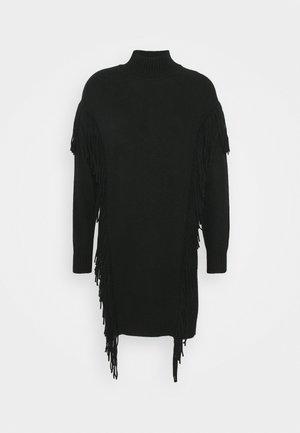 MIRAGGIO  - Gebreide jurk - black