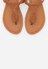 Madden Girl - ARIAA - T-bar sandals - cognac paris - 5