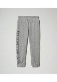 Napapijri - Tracksuit bottoms - medium grey melange - 1
