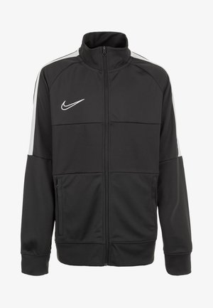 Training jacket - anthracite / white