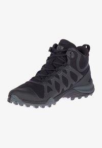 Merrell - SIREN 3 MID GTX - Turstøvler - black/black - 0