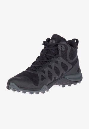 SIREN 3 MID GTX - Walking boots - black/black