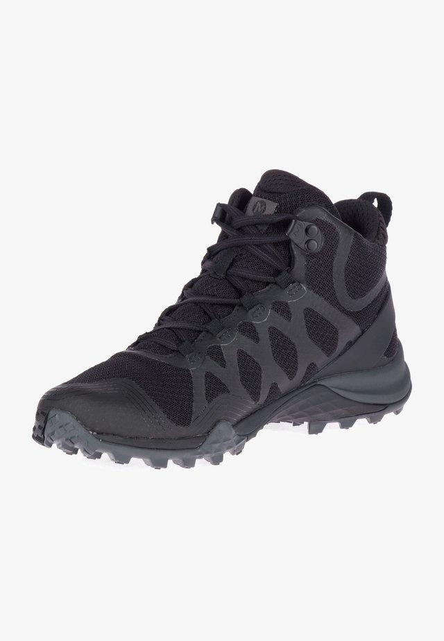 SIREN 3 MID GTX - Bottines de randonnée - black/black