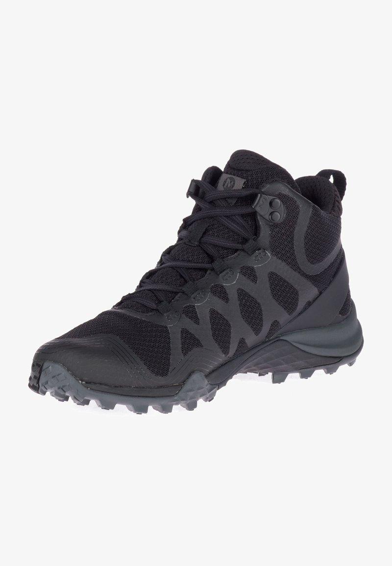 Merrell - SIREN 3 MID GTX - Turstøvler - black/black