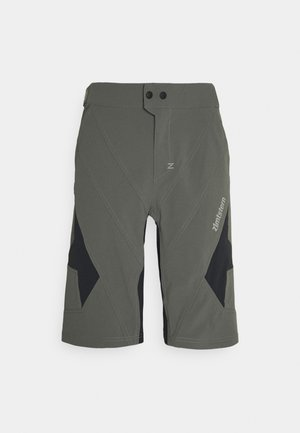TAURUZ EVO SHORT MENS - Sports shorts - gun metal/pirate black