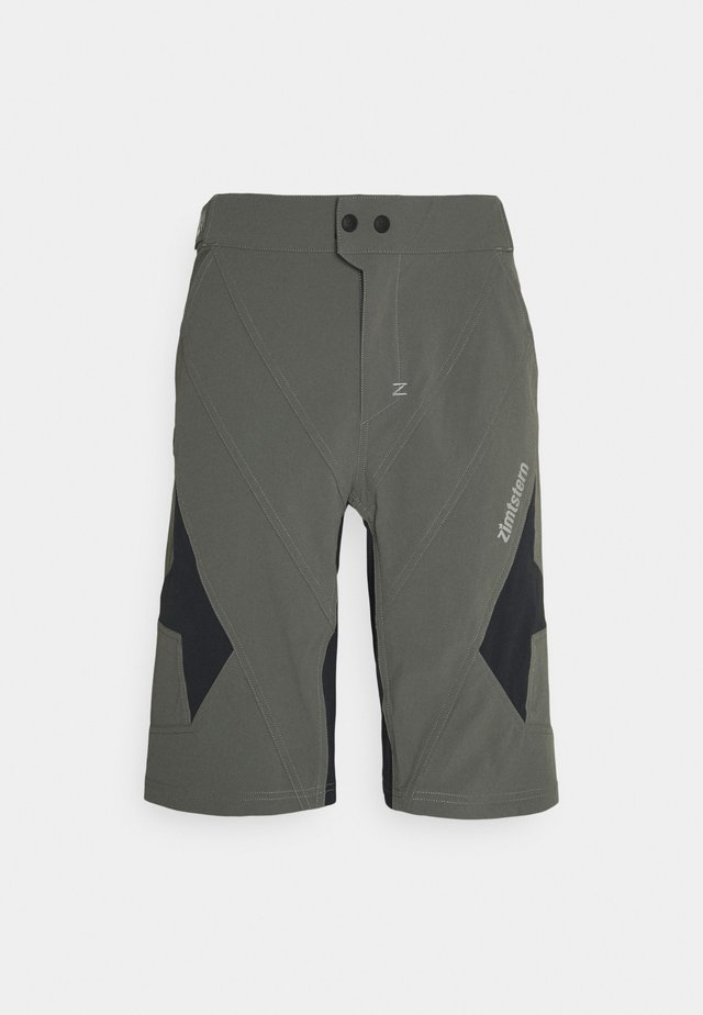 TAURUZ EVO SHORT MENS - Urheilushortsit - gun metal/pirate black