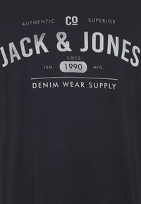 Jack & Jones - JJEJEANS TEE CREW NECK 3 PACK - Print T-shirt - cloud dancer - 4