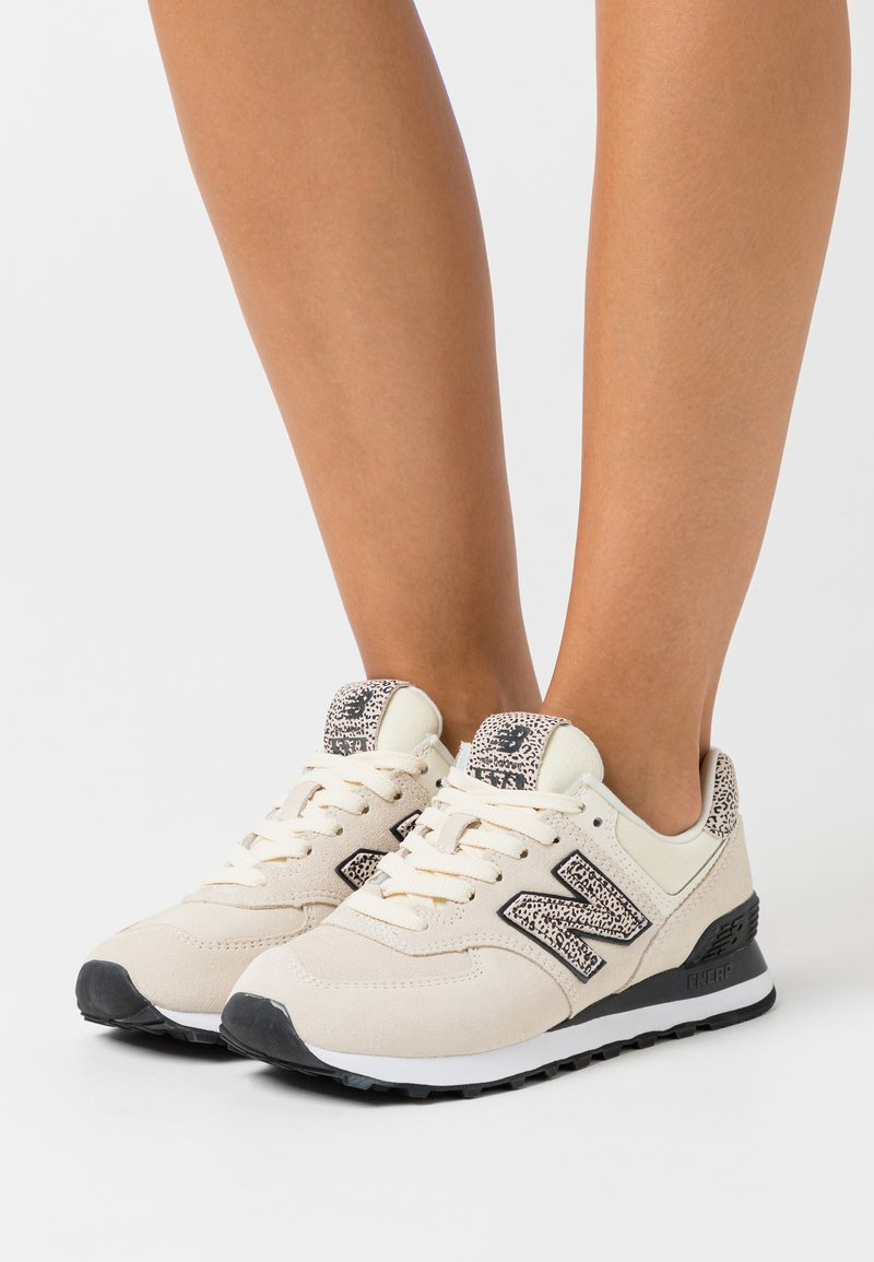 New Balance - WL574 - Trainers - offwhite