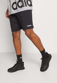 adidas Performance - 3 STRIPES AEROREADY TRAINING SHORTS - Short de sport - black/white - 0