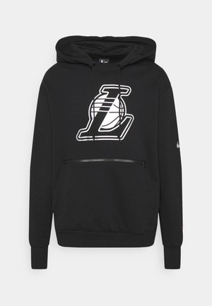 NBA LA LAKERS LOGO HOODIE - Club wear - black
