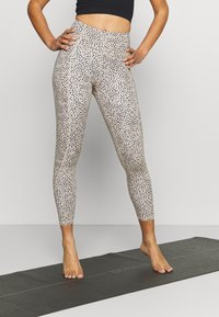 Cotton On Body - LIFESTYLE POCKET - Leggings - natural/black - 0