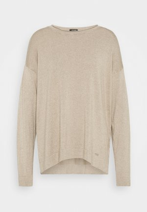 1/1 SLEEVE - Jumper - camel