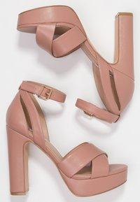 Even&Odd - Sandalen met hoge hak - light pink - 3