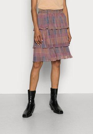 TERNA SKIRT - Pleated skirt - russet