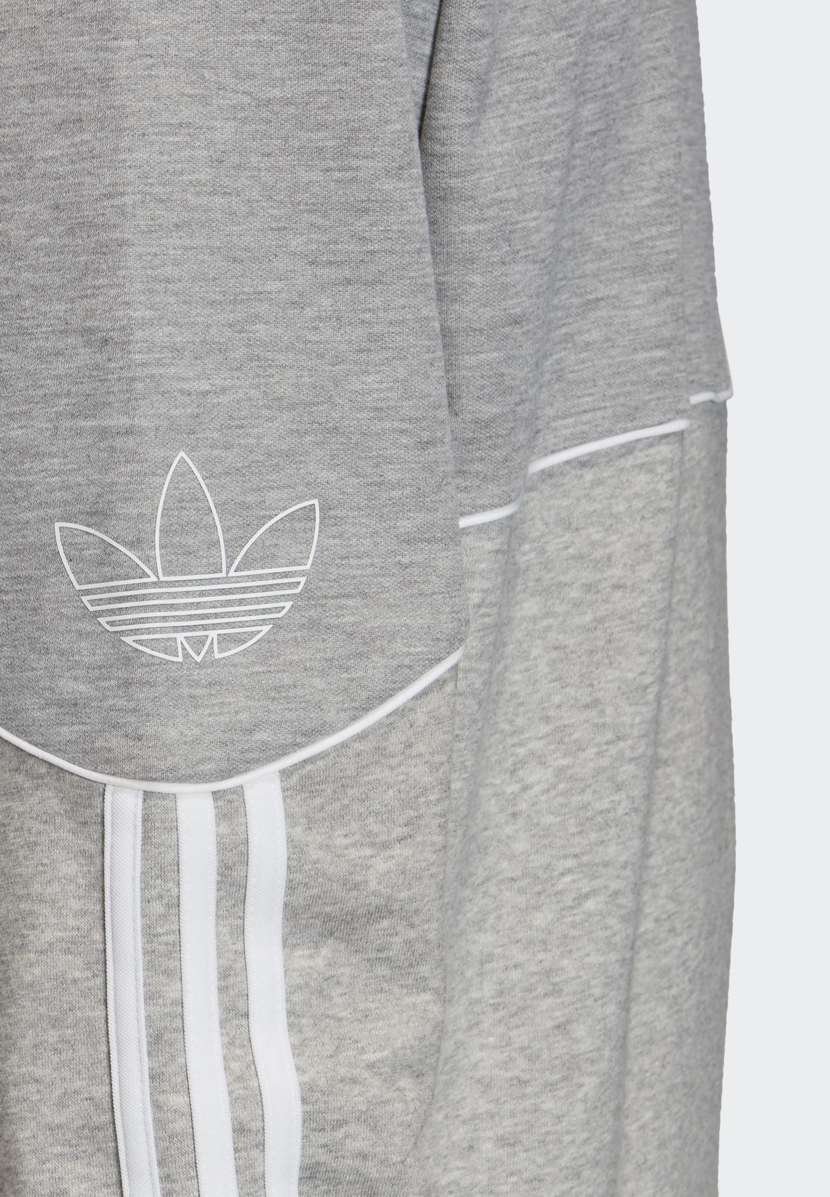 Adidas Originals Outline Crewneck Sweatshirt - Grey/grå