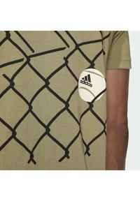 adidas Performance - US OPEN FENC - Sports shirt - green - 5